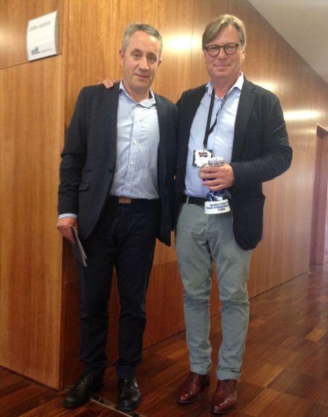 Luis Miguel con Peter Sisseck