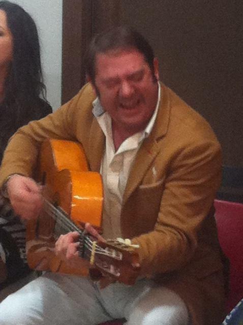 Cantaor de flamenco