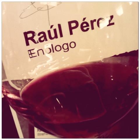 Raúl Pérez, enólogo de Camino del Norte Compañía de Vinos (foto de @queridilla)