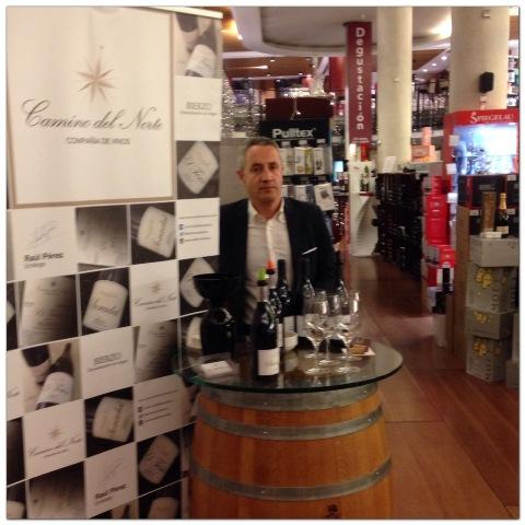 Luis Miguel, director de Camino del Norte Compañía de Vinos