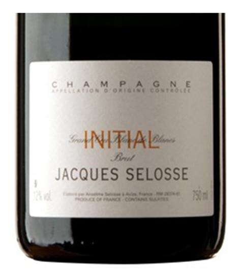 Champagne Jacques Selosse Brut Initial Grand Cru