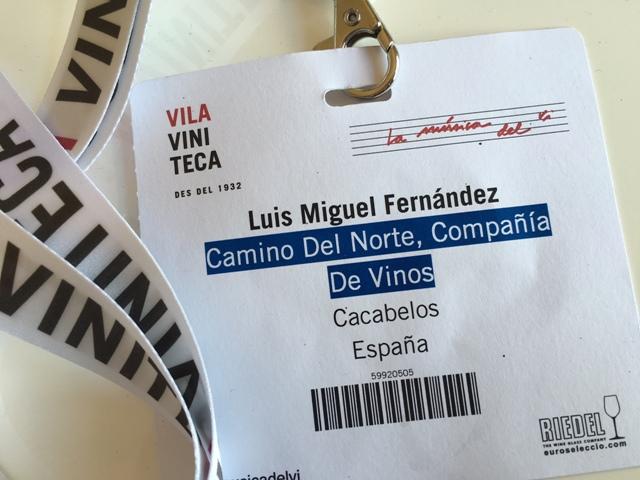 Acreditación Luis Miguel Fernández