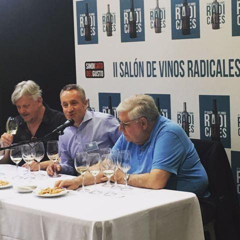 Luis Miguel Fernández con Federico Oldenburg y Victor de la Serna