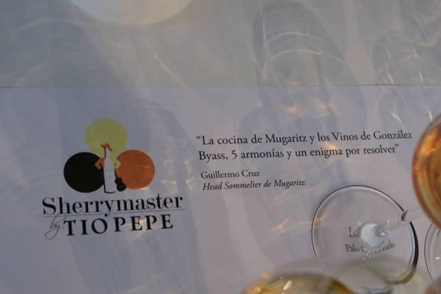 Masterclass ofrecida por Guillermo Cruz, Head Sommelier restaurante Mugaritz