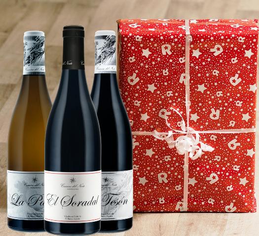 10 originales ideas para regalar buenos vinos en Navidad