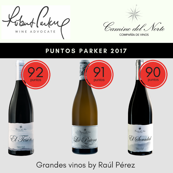 Puntos Parker 2017 El Teson, El Soradal y La Patena