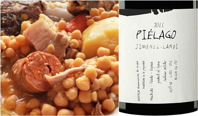 Cocido madrileño y Piélago