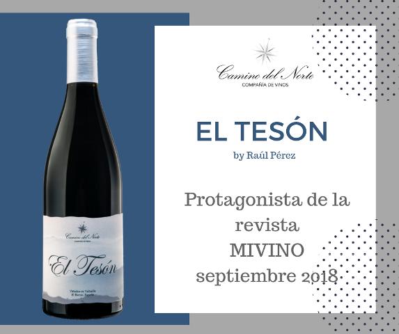 El Tesón de Raúl Pérez protagonista de MiVino sept. 2018