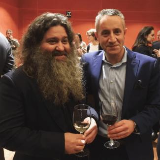 Raul Perez y Luis Miguel Fernandez - Premio La Posada