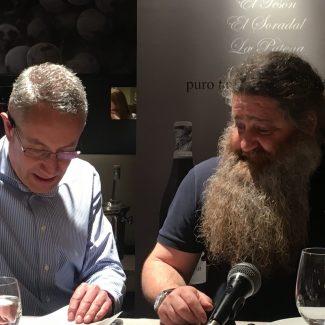 Luis Miguel Fernandez y Raul Perez - Cata en Lavinia - Madrid